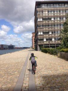 Riding Bikes in Denmark